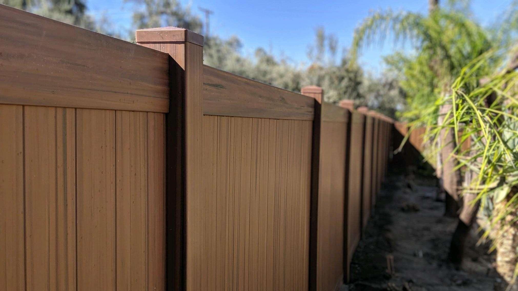 trex composite fence irvine ca