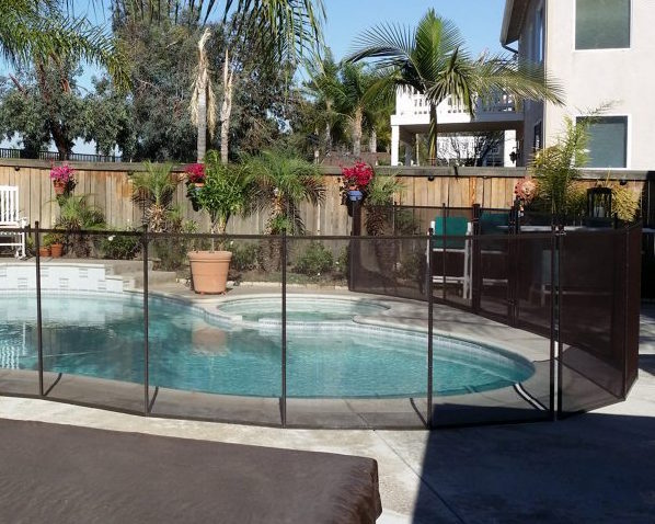 removeable pool fence irvine ca